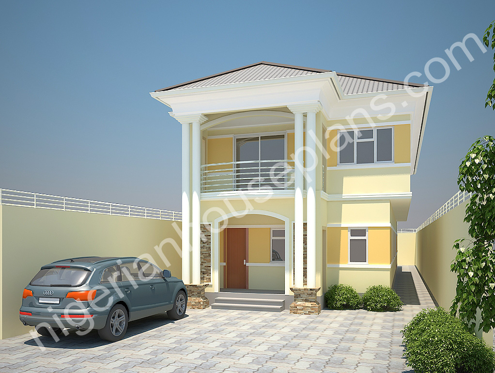 4 Bedroom Duplex On Half Plot Ref No 4021