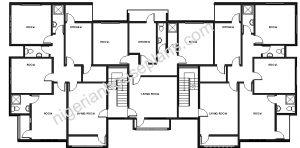 3 bedroom_2 bedroom plan