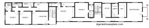4 bedroom duplex_2 bedroom flats ground floor