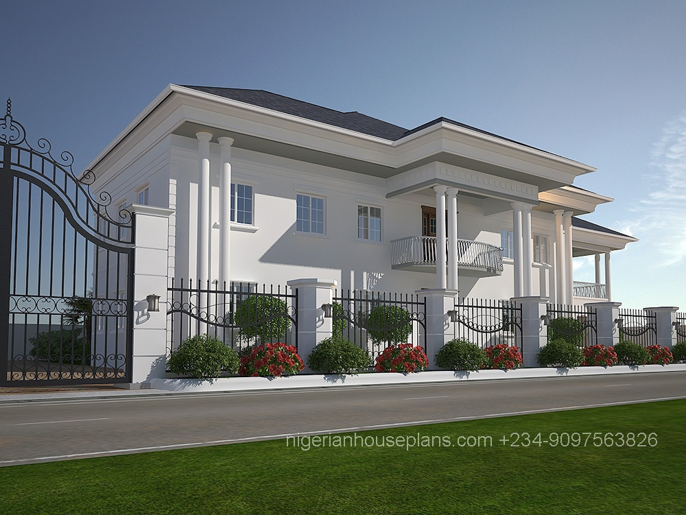 6 bedroom duplex house plans in nigeria for 6 bedroom duplex house plans