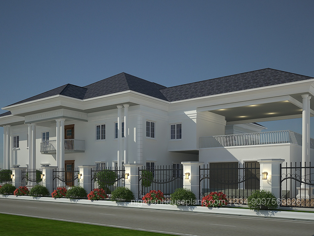 Dr peter s house nigerianhouseplans for Duplex building cost estimator