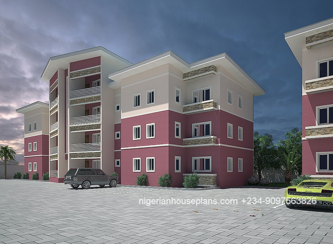 Modern duplex house plans in nigeria for House plans nigeria