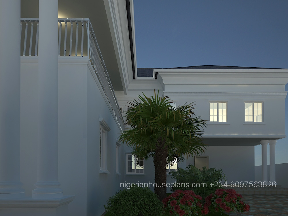 Dr peter s house nigerianhouseplans for 4 bedroom duplex design
