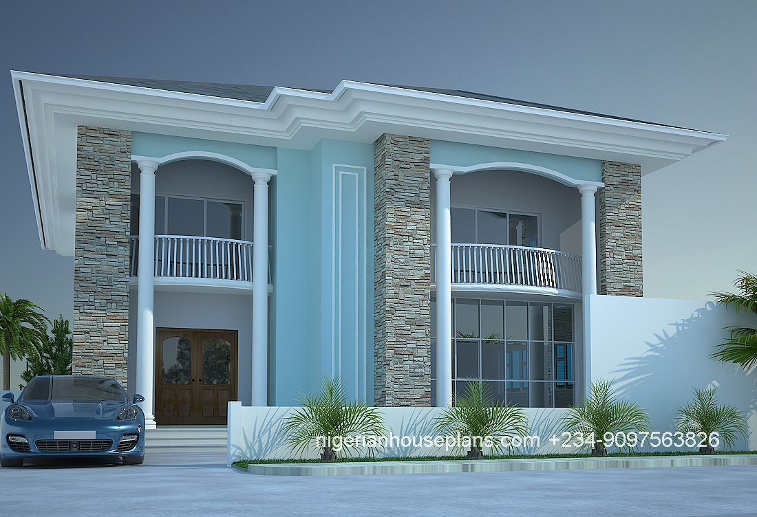 Best house plan in nigeria for Nigeria building plans and designs