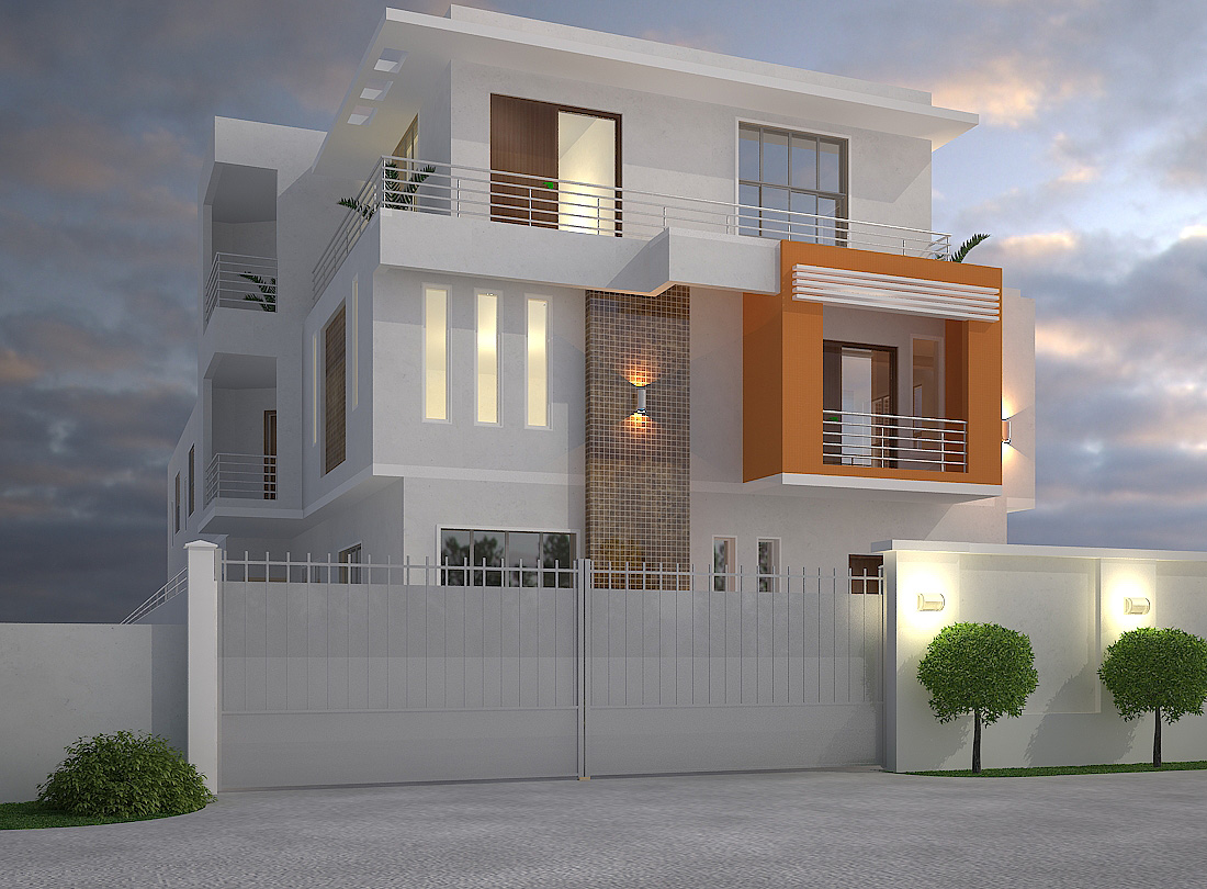 5 bedroom duplex 2 bedroom block of flats