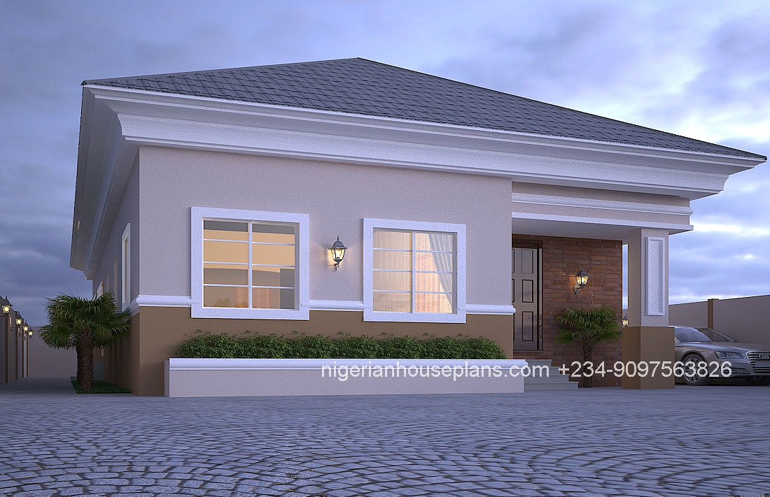 5 bedroom duplex ref best free home design idea for Nigerian home designs photos