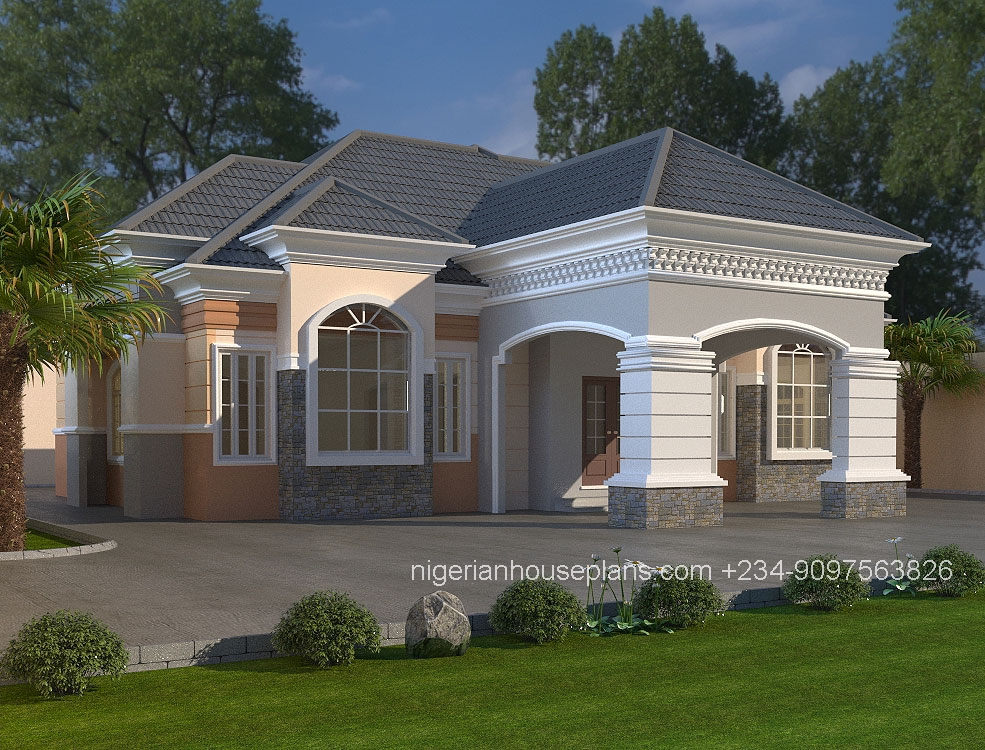 Nigerianhouseplans your one stop building project for One room home designs
