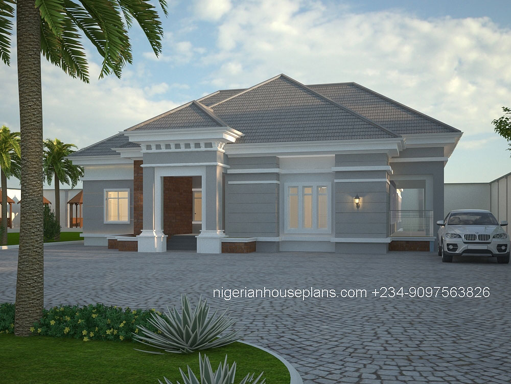 nigerian-house-plans_4-bedr